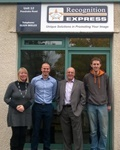 Grangemouth Trio Join Forces to Buy Thriving Local Recognition Express business