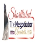 Agency Express Shortlisted in 2016 Negotiator Awards