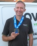Ovenu Wirral owner braves first ever marathon for charity