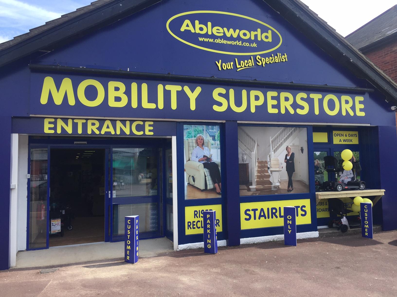 Ableworld Franchise   Mobility Showroom Business