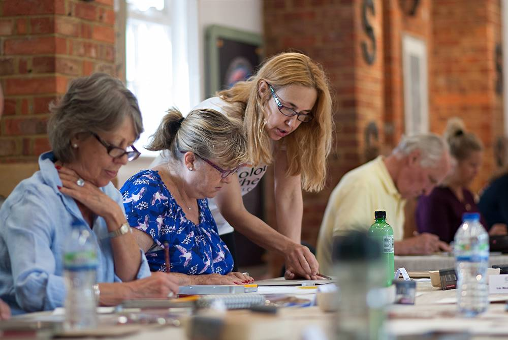 ColourWheel Franchise | Adult Art Class Business
