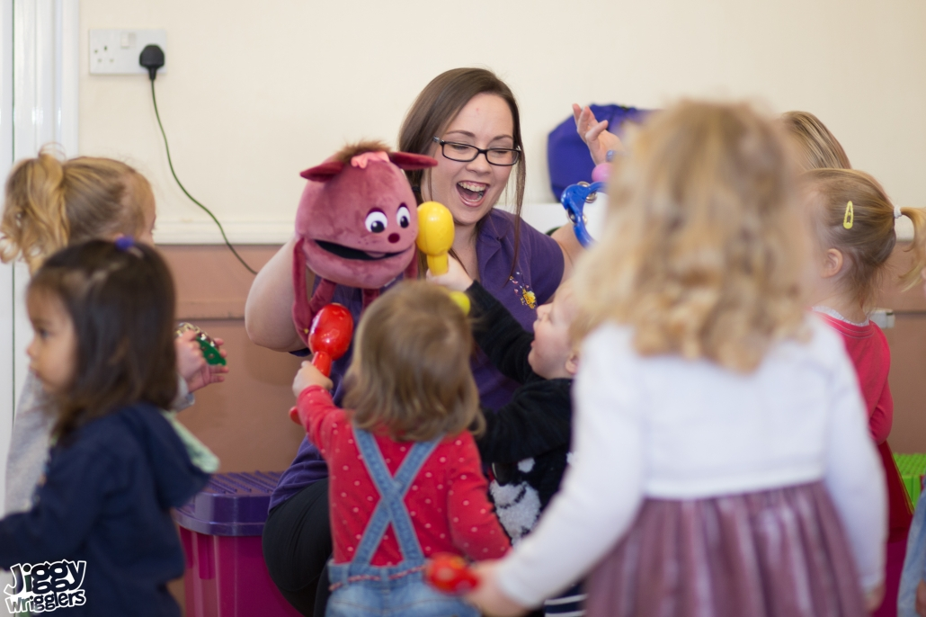 Jiggy Wrigglers Franchise | children's music and movement business