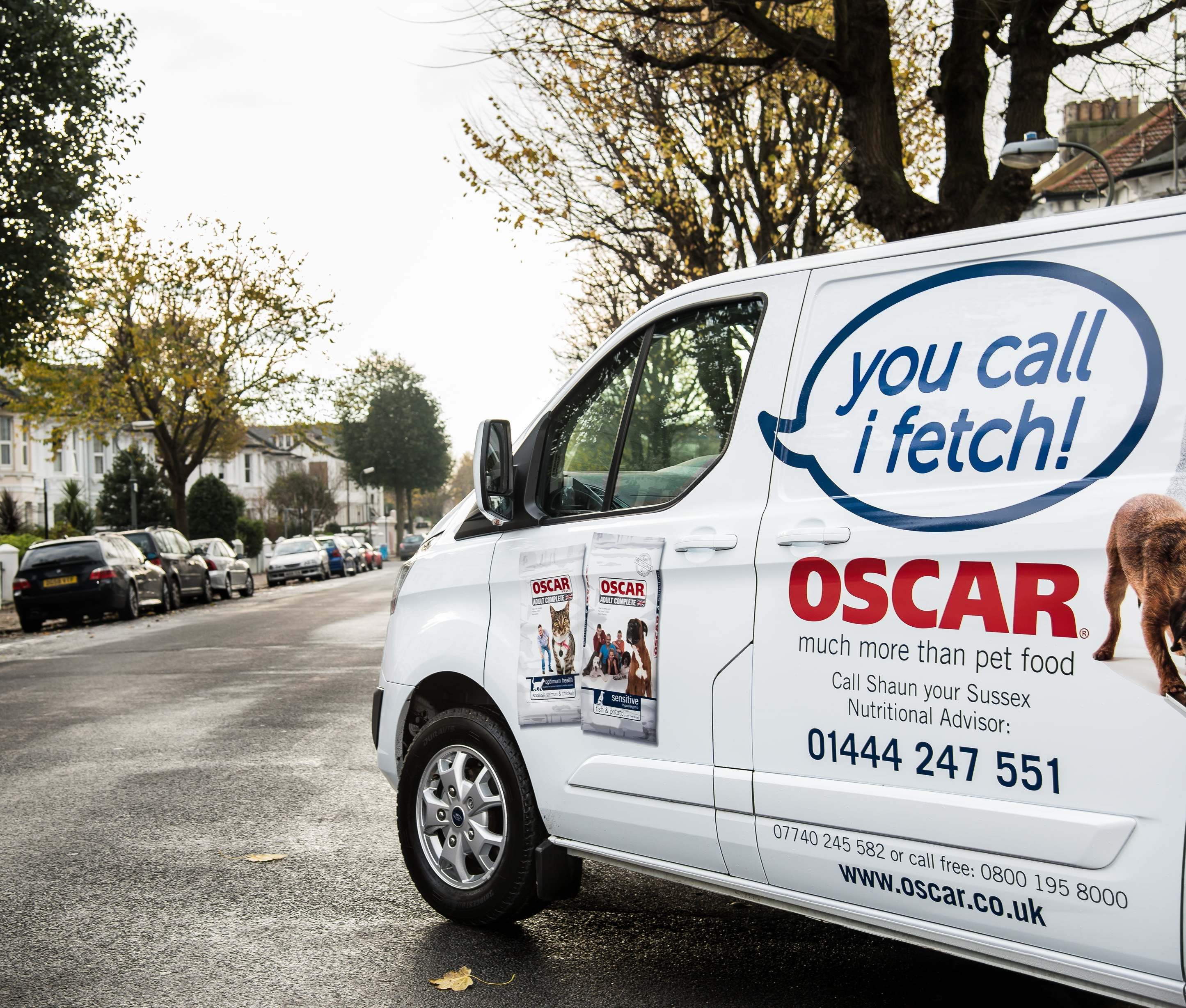 OSCAR Franchise | Pet Food Home Delivery Business