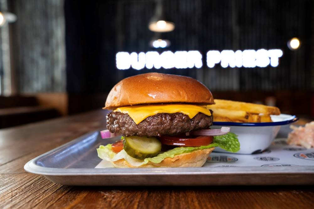 The Burger Priest Franchise | Burger Restaurant & Take Out Business
