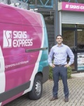 Janiv Patel - Under 30 and a Signs Express Franchisee