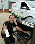 Ware man switches parcels for ovens with business launch