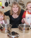Frances Webster Runs Kiddy Cook Norwich