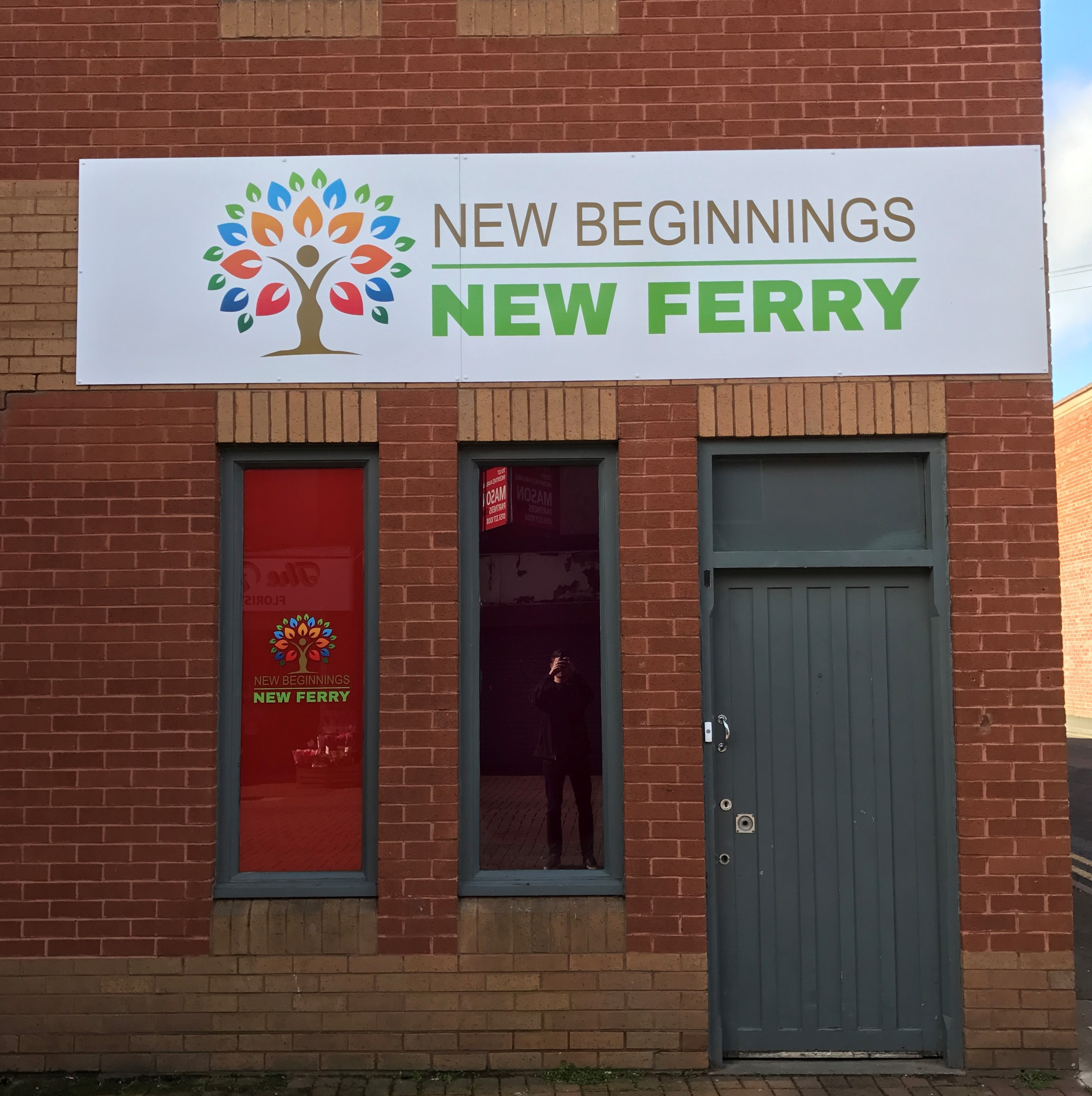 Signs Express Help With A New Beginning for New Ferry