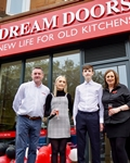 Dream Doors Franchisee Pulls Out All Stops To Achieve Fastest Ever Showroom Opening