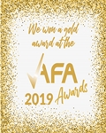 No Letting Go wins Gold at the AFA Awards!