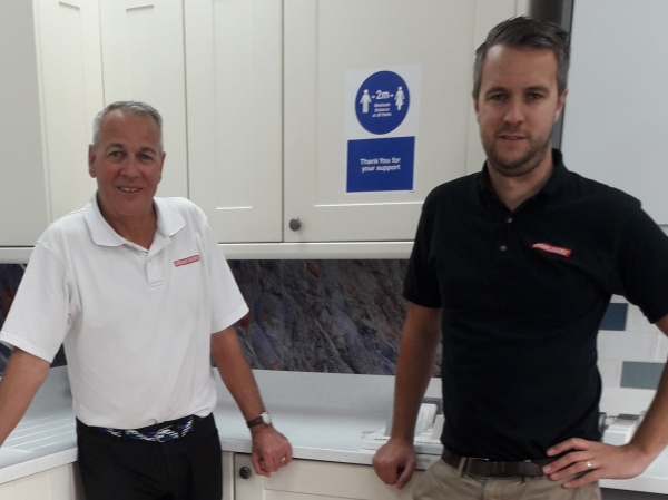 Father and son find career change they want with Dream Doors