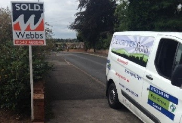 Countrywide Signs Franchise | Estate Agent Sign Board Business